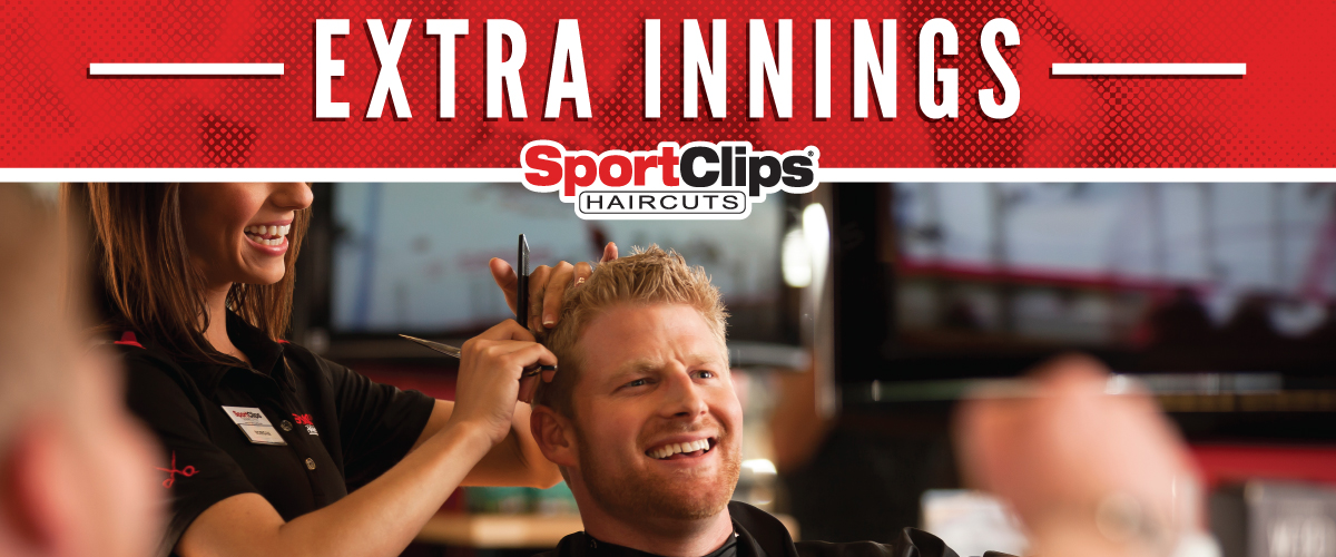 The Sport Clips Haircuts of Metairie  Extra Innings Offerings
